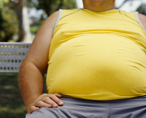 Obesity in men - a full-fledged, permanent attack on your body