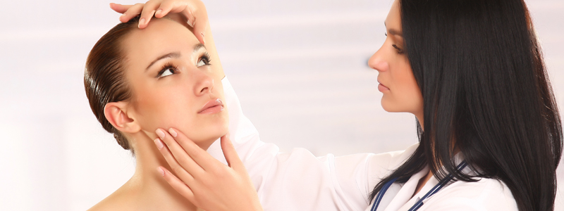 Professional medical help for acne